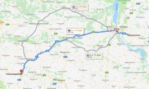 taxi Boryspil - Khmelnitsky
