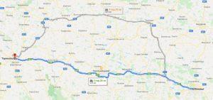 маршрут таксі ВІННИЦЯ - ТЕРНОПІЛЬ