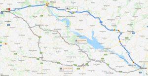 маршрут таксі ДНІПРО - ЖИТОМИР