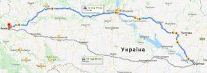 маршрут таксі ДНІПРО - ЛЬВІВ